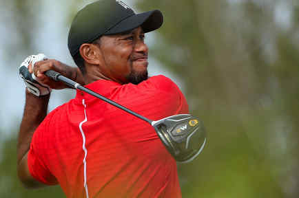 Tiger Woods en el Hero World Challenge