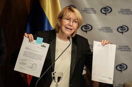 Fiscal venezolana no irá a su juicio en el Supremo y dice que no lo reconoce
