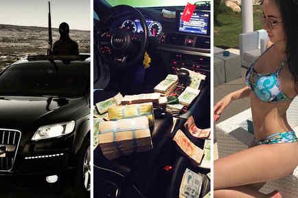 Los niños ricos de Instagram.