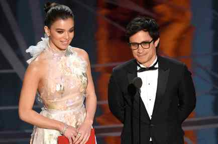 Gael Garcia Bernal at Oscars 2017