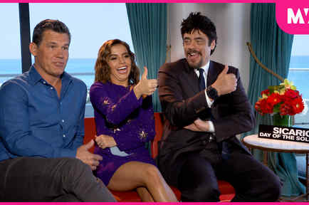 "The Cast of ""Sicario: Day of the Soldado""  Give a Thumbs Up to Astrology"