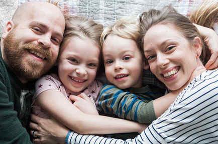 Jo Pride, Paul y sus hijos