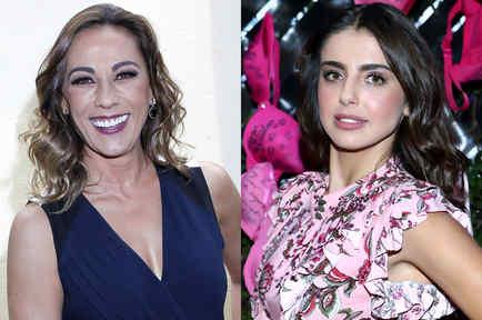Consuelo Duval y Michelle Renaud
