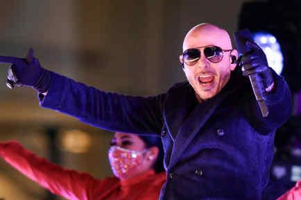 Pitbull en concierto