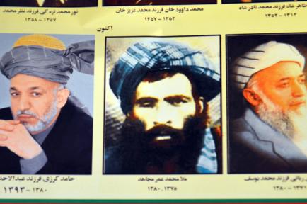 líderes afganos