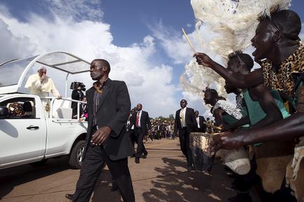 Papa Francisco en África