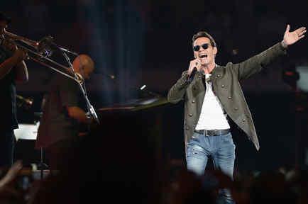 Marc Anthony en concierto en Miami 2015