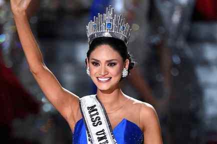 Pia Alonzo Wurtzbach, Miss Universo 2015