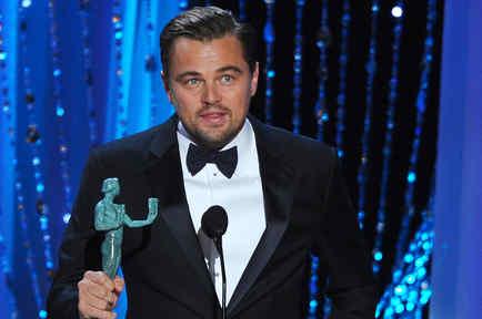 Leonardo DiCaprio en SAG Awards 2016