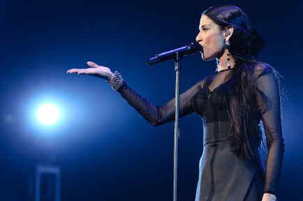 Natalia Jimenez en concierto