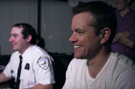 Matt Damon le hace una broma a sus fans al estilo de Jason Bourne