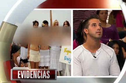 Se la pasa desnuda en #CasoCerrado (VIDEO)