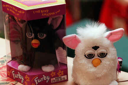 'Furby', this years hottest toy for Christmas, a very hard to find item.
