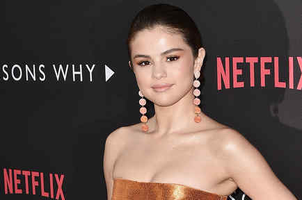 Selena Gomez en la Premiere de 13 Reasons Why