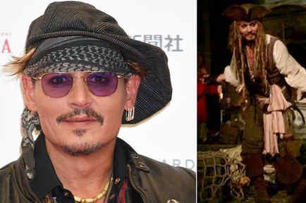 Johnny Depp apareció en Dinsey