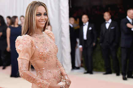 Beyoncé en la Met Gala 2016