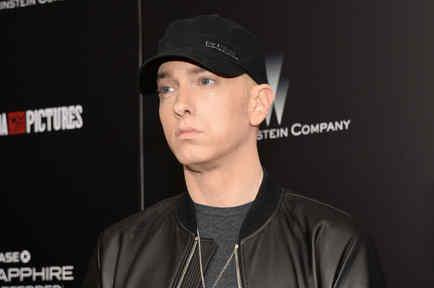 """Eminem en la premiere de """"Southpaw"""" en Nueva York"""