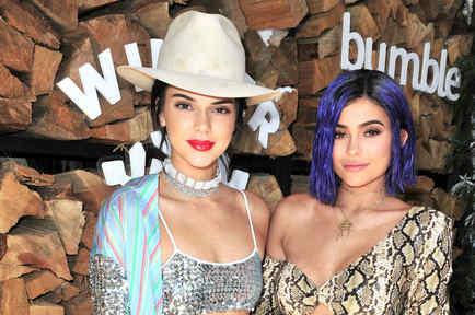Kendall y Kylie Jenner en Coachella