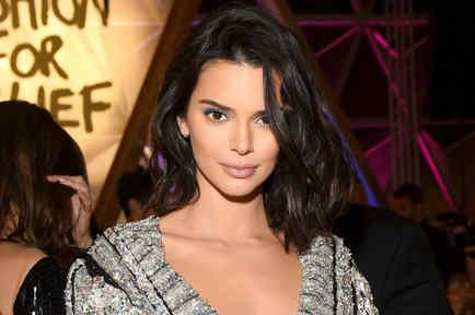 Kendall Jenner en una cena de gala
