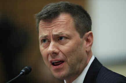 Peter Strzok testificando en la Cámara de Representantes