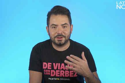 José Eduardo revela cómo sería vivir con la familia Derbez