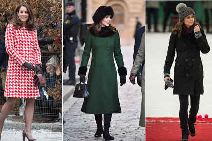 Los looks de Kate Middleton en Suecia