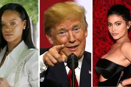 Collage de las personas más influyentes según TIME