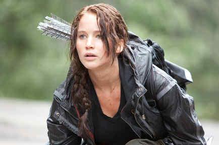"""ennifer Lawrence en """"The Hunger Games"""""""