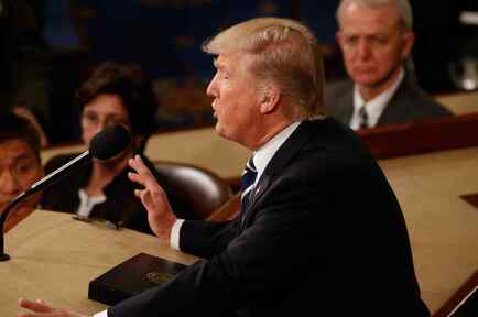 Trump en el Congreso