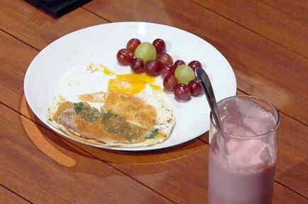 La presentación del plato de María Luisa molestó mucho a la Chef Claudia
