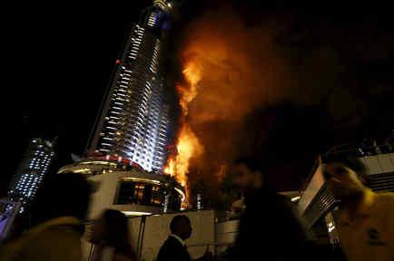 incendio hotel address Dubai