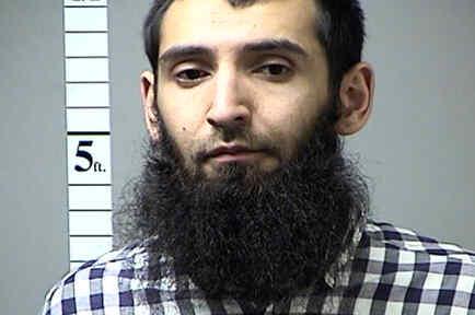 Saipov Sayfullo Habibullaevic, sospechoso de embestir a peatones y ciclistas en New York el 31 de octubre del 2017. Ocho personas murieron en el incidente.