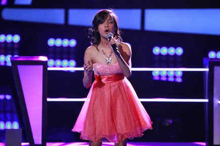 Jessica en las batallas de La Voz Kids