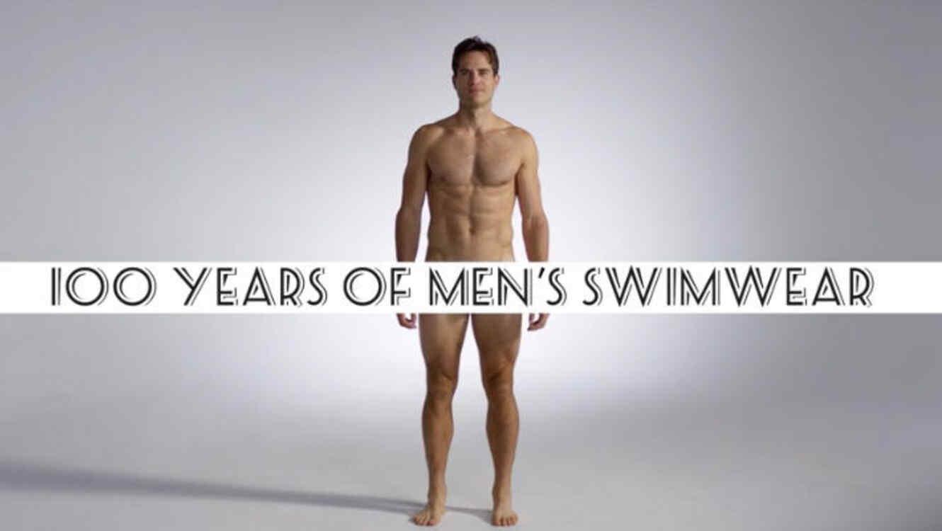 087140dad849 VIDEO: 100 años de trajes de baño masculinos, un vistazo a la moda ...