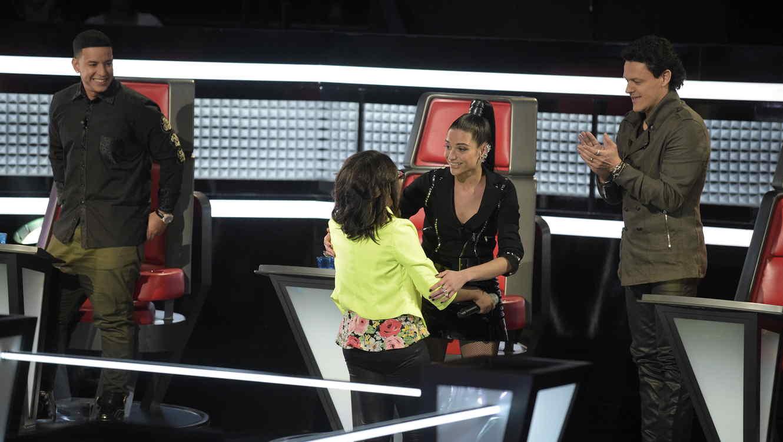 Priscila Naranjo gana batalla de team natalia en la voz kids