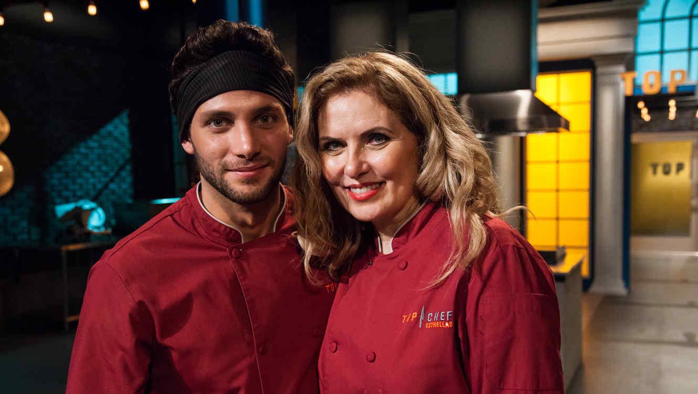 Finalistas detrás de cámaras en Top Chef Estrellas