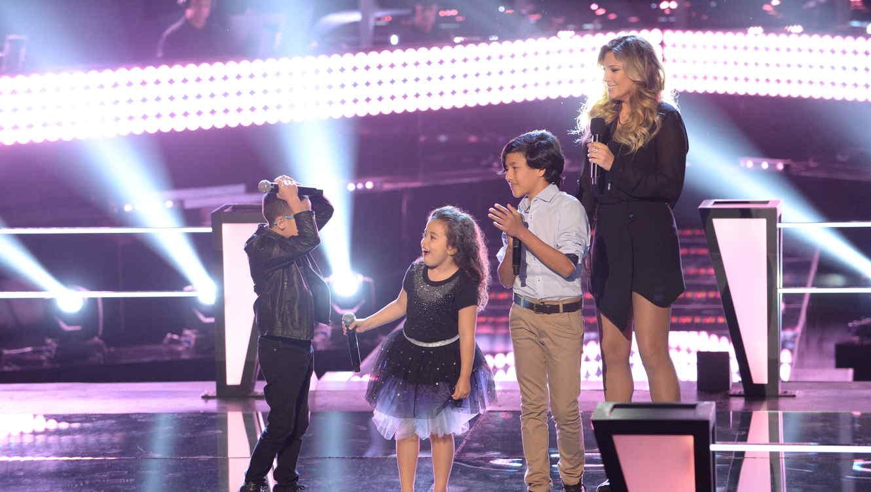 Jonael Santiago gana batalla del team natalia en la voz kids