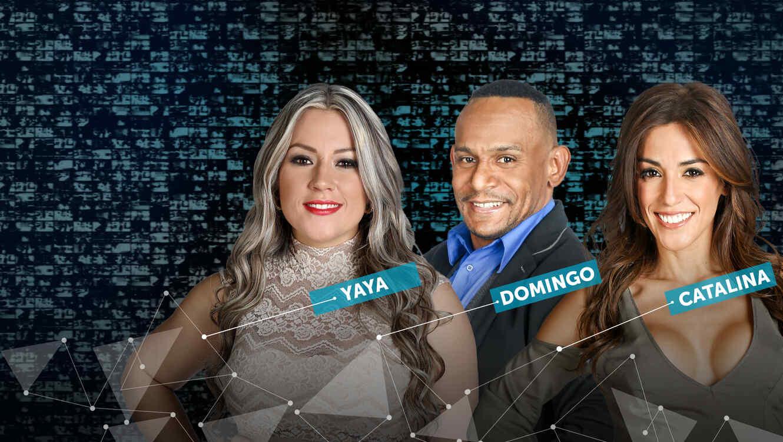 Yaya, Domingo, Catalina, nominados de la tercera semana de Gran Hermano