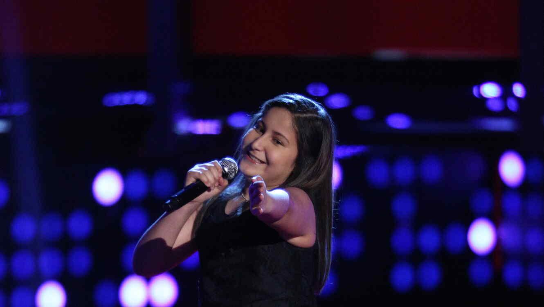 Rocio Muñoz es team natalia en la voz kids