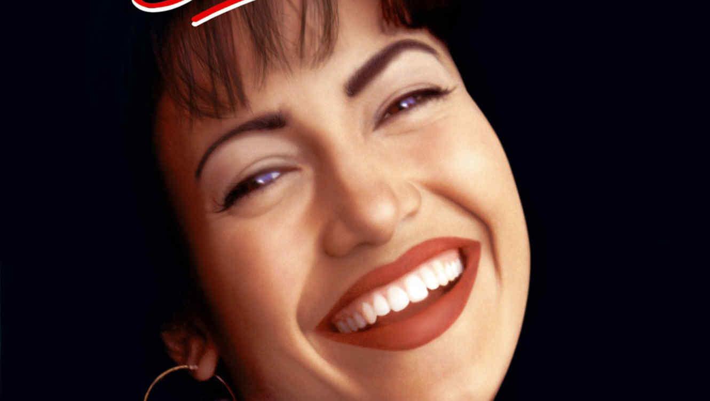 """Póster de la película """"Selena""""."""