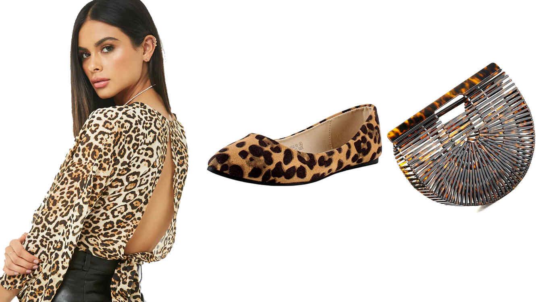 Prendas con estampado de leopardo en tendencia