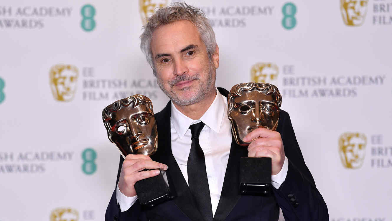 """BAFTA 2019: Alfonso Cuarón Y """"Roma"""" Triunfaron En Los Premios BAFTA"""
