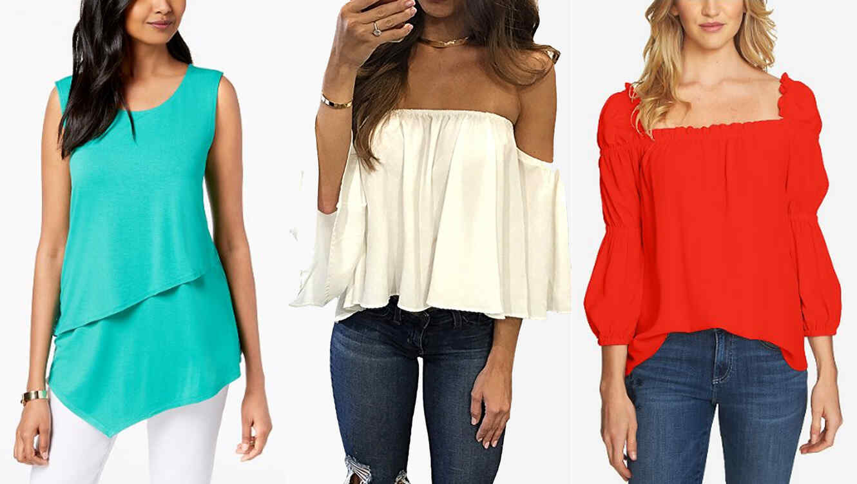 c91469156e30 13 encantadoras blusas para armar un look fresco este verano | Telemundo