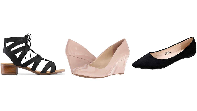 Zapatos cómodos ideales para usar en el trabajo