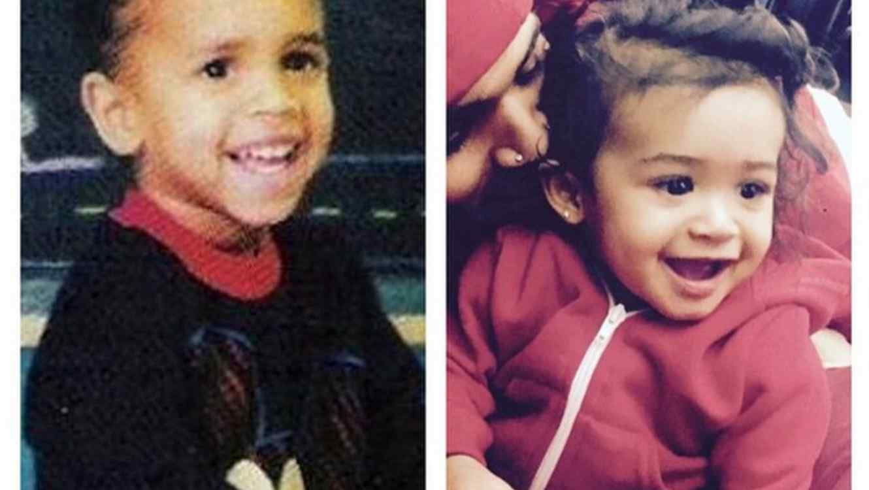 Chris Brown y su hija Royalty