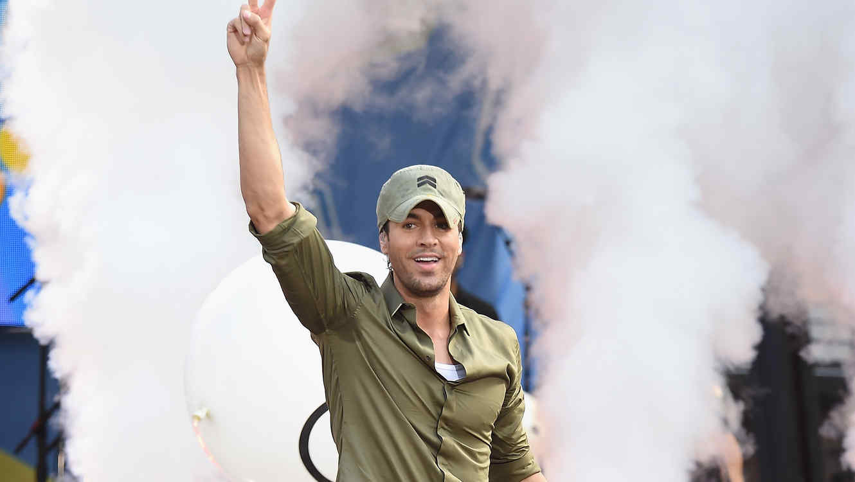 "Enrique Iglesias Performs On ABC's ""Good Morning America"""