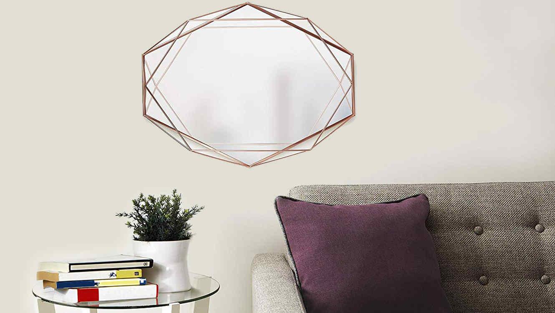 8 espejos para darle un toque muy elegante a la decoraci n de tu hogar telemundo - Espejos decorativos amazon ...