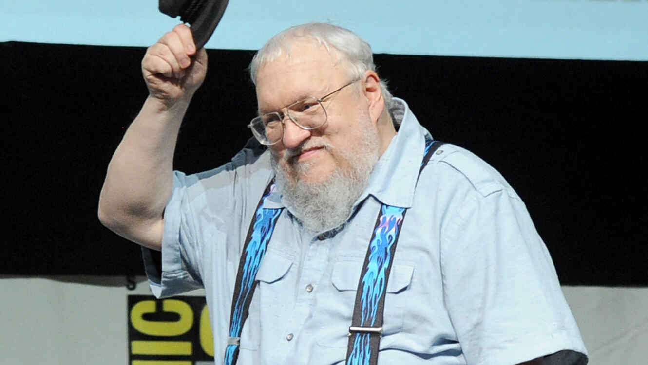 "George R.R. Martin  ""Game Of Thrones"" Panel - Comic-Con International 2013"