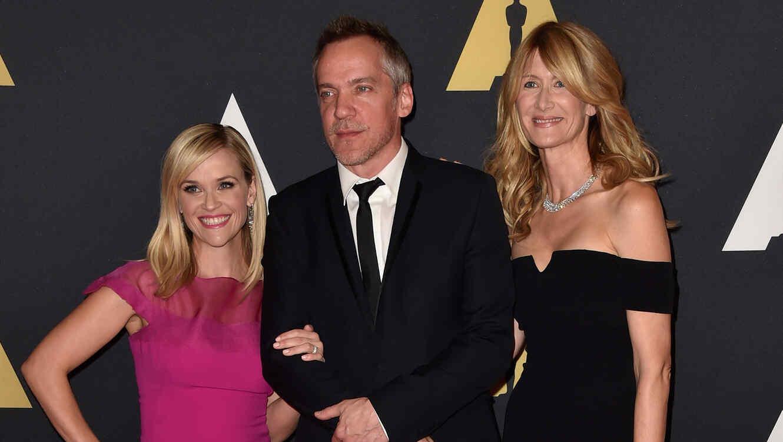 Reese Witherspoon, Jean-Marc Vallee y Laura Dern
