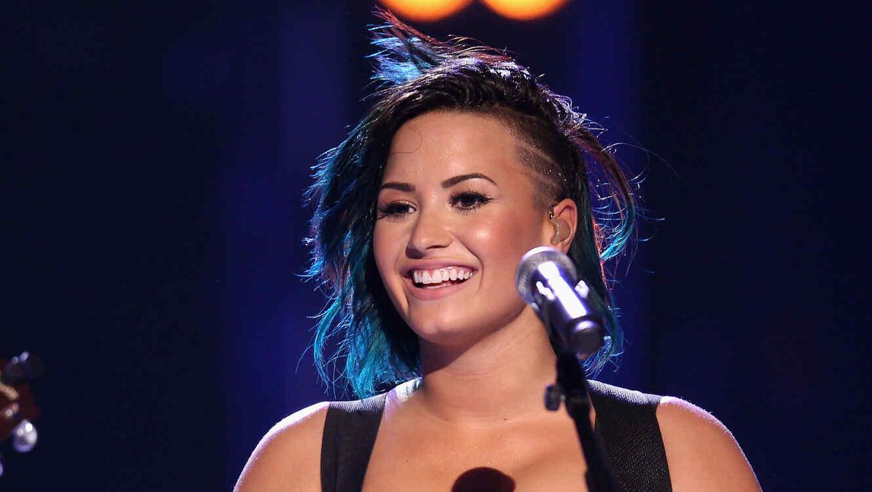 Demi Lovato en el Vevo CERTIFIED SuperFanFest
